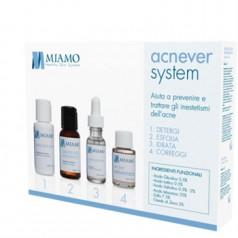 Miamo Acnever System Kit Aiuta a Prevenire e Trattare gli Inestetismi dell'Acne