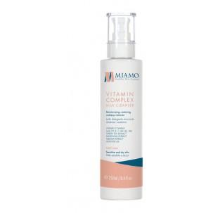 Miamo Total Care Vitamin Complex Milk Cleanser 250 ML Latte Detergente Struccante Idratante Restitutivo