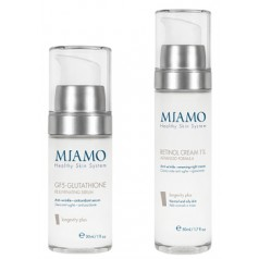 Miamo Kit GF5 Glutathione Rejuvenating Serum 30 ML + Retinol Cream 1% 50 ML