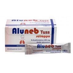 ALUNEB TUSS SCIROPPO 20 STICK PACK MONODOSE DA 10 ML GUSTO AMARENA SENZA GLUTINE