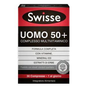 SWISSE MULTIVITAMINICO UOMO 50+ 30 COMPRESSE