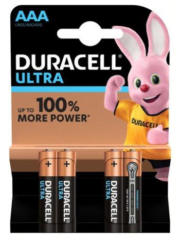 Duracell ultra aaa b4 mn2400 rft 10 pezzi