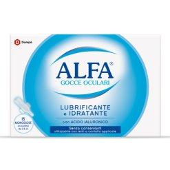 Alfa Gocce Oculari Lubrificanti e Idratanti 15 Fiale 0,5 ml