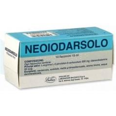 NEOIODARSOLO*orale soluz 10 flaconcini 15 ml