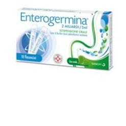 ENTEROGERMINA*orale sosp 10 flaconcini 2 mld 5 ml