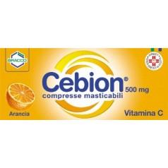 CEBION 500*20 cpr mast 500 mg arancia
