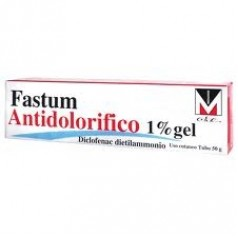 FASTUM ANTIDOLORIFICO*1% gel 50 g