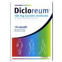 DICLOREUM ANTINFIAMMATORIO LOCALE*10 cerotti 180 mg
