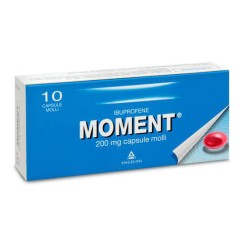 MOMENT*10 capsule molli 200 mg