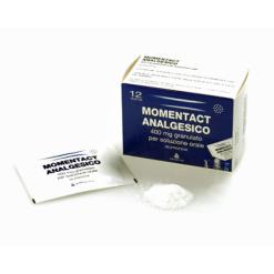 MOMENTACT ANALGESICO*12 bustine granulato 400 mg