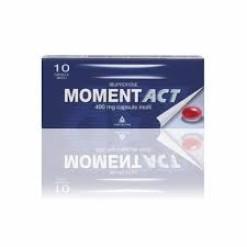 MOMENTACT*10 capsule molli 400 mg