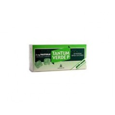 TANTUM VERDE P*20 pastiglie 3 mg menta