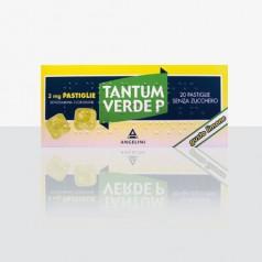 TANTUM VERDE P*20 pastiglie 3 mg limone