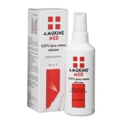 AMUKINE MED*soluz derm 200 ml 0,05%