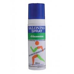 SALONPAS*spray soluz cutanea 80 ml 1,4 g + 2,56 g + 2,4 g