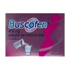 BUSCOFEN*10 bust granulato 400 mg