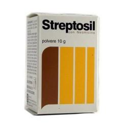 STREPTOSIL NEOMICINA*polv u.e. 10 g 99,5% + 0,5%
