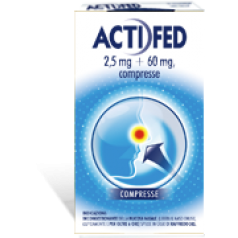 ACTIFED*12 compresse 2,5 mg + 60 mg
