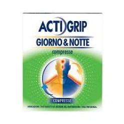 ACTIGRIP GIORNO & NOTTE*12 cpr giorno + 4 cpr notte