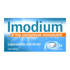IMODIUM*12 cpr orosolubili 2 mg