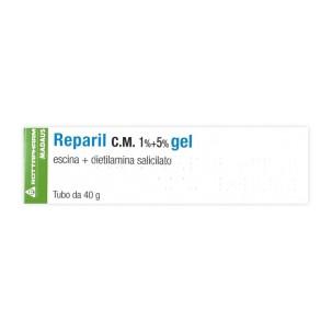 REPARIL GEL CM*gel 40 g 1% + 5%