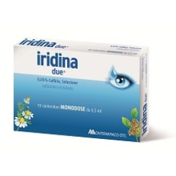 IRIDINA DUE*10 monod collirio 0,5 ml 0,05%