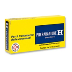 PREPARAZIONE H*12 supp 23 mg