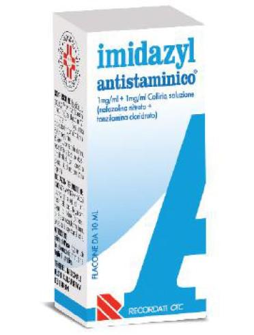 Imidazyl antistaminico*collirio 10 ml 1 mg/ml + 1 mg/ml