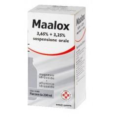 MAALOX*orale sosp 200 ml 3,65% + 3,25%