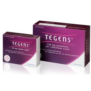 TEGENS*20 cps 160 mg
