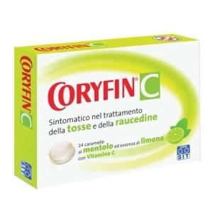 CORYFIN*24 pastiglie limone 2,8 mg + 16,8 mg