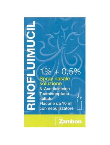 Rinofluimucil*spray nasale flaconcino 10 ml 1% + 0,5%