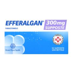 EFFERALGAN*10 supp 300 mg