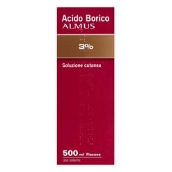 ACIDO BORICO (ALMUS)*soluz cutanea 500 ml 3%