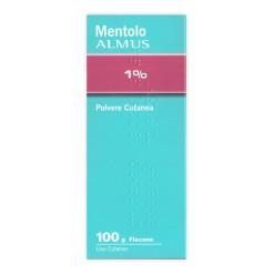 MENTOLO (ALMUS)*polv u.e. 100 g 1%