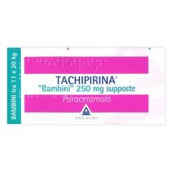 TACHIPIRINA*BAMBINI 10 supposte 250 mg