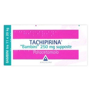 TACHIPIRINA*BAMBINI 10 supposte 250 mg