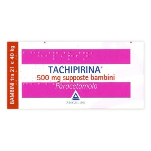 TACHIPIRINA*BAMBINI 10 supposte 500 mg
