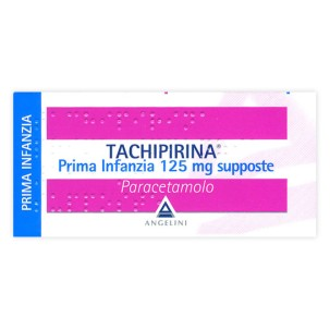 TACHIPIRINA*PRIMA INFANZIA 10 supposte 125 mg