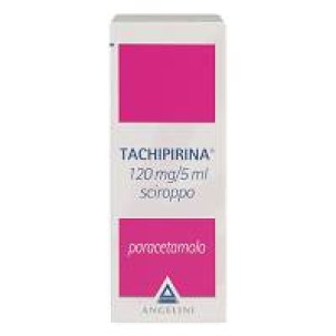 TACHIPIRINA*sciroppo 120 ml 120 mg/5 ml
