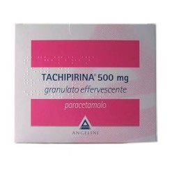 TACHIPIRINA*20 bustine granulato effervescente 500 mg