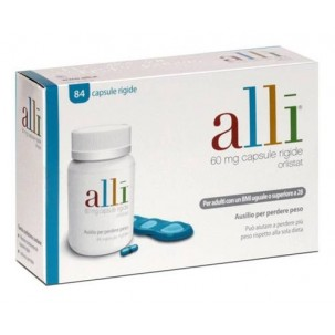 ALLI*84 capsule 60 mg