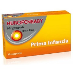 NUROFENBABY*10 supp 60 mg prima infanzia
