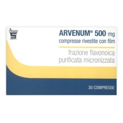 ARVENUM 500*30 cpr riv 500 mg