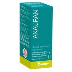 ANAURAN*GOCCE AURICOLARI 25 ml