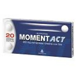 MOMENTACT*20 compresse rivestite 400 mg