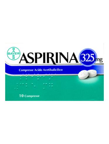 Aspirina*10 cpr 325 mg