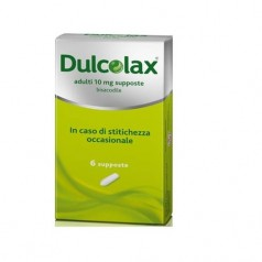 DULCOLAX*AD 6 supp 10 mg