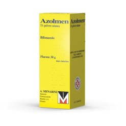 AZOLMEN*polv derm 30 g 1%