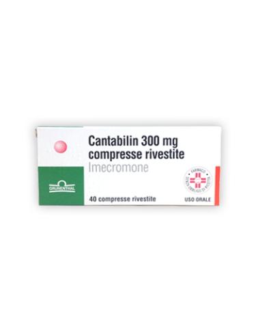 Cantabilin*40 cpr riv 300 mg